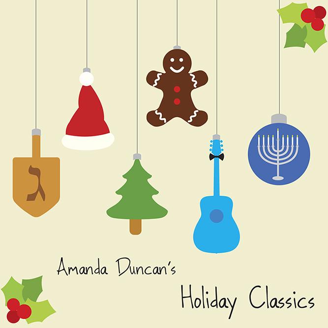 Amanda Duncan's Holiday Classics EP Cover